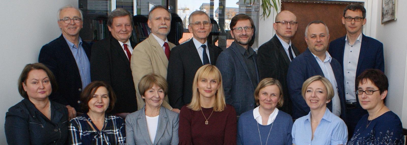 Pracownicy Katedry Marketingu UEK w Krakowie